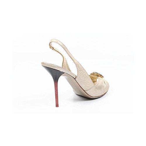 Sebastian Milano - Sandalias de vestir para mujer dorado dorado 41 EUR - 11 US dorado