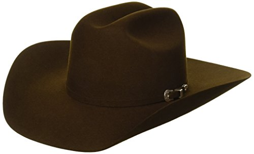 (Bailey Western Men's Pro 5X Cattleman Cowboy Hat, Brown, 7)