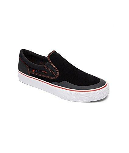 DC Shoes - Zapatillas de skateboarding para hombre negro/rojo/blanco