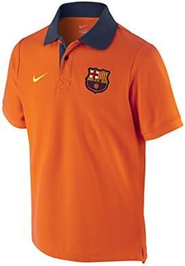 Polo FC Barcelona Core Junior -Naranja-: Amazon.es: Deportes y ...
