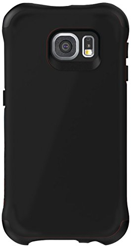 6 Dozen Case Collection - Ballistic, Galaxy S6 Case [Urbanite] Six-Sided - 6ft Drop Test Certified Case Protection [Black] Reinforced Bumper Cell Phone Case for Samsung Galaxy S6 - Black