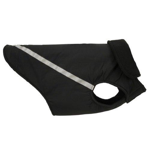 RC Pet Products West Coast Rain Wear Dog Coat, Size 12, Black, My Pet Supplies
