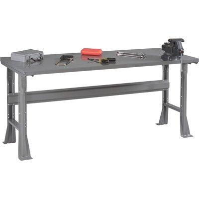 Tennsco Steel Workbench - 48in.W x 30in.D x 33 1/2in.H, Model# WB-1-3048S