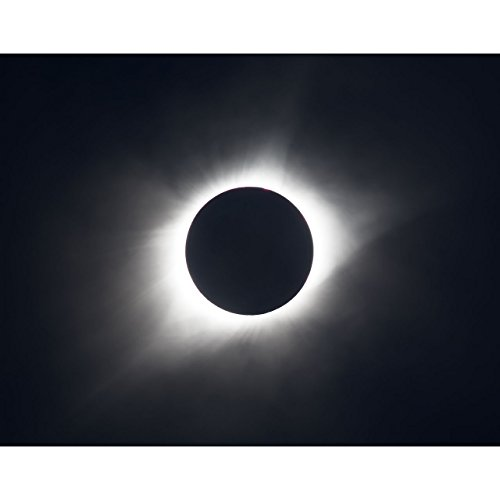 11x14 Solar Eclipse Print Totality by TravLin Photography by TravLin Photography