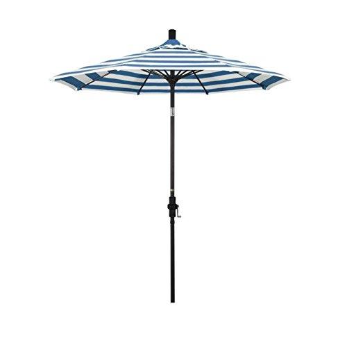 California Paraguas Redondo de Aluminio de 7, 5
