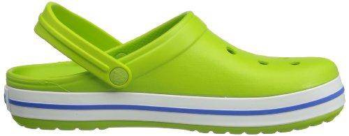 Blue Adulte Crocband volt Mixte Crocs varsity Vert Sabots Green q8Uaxtw