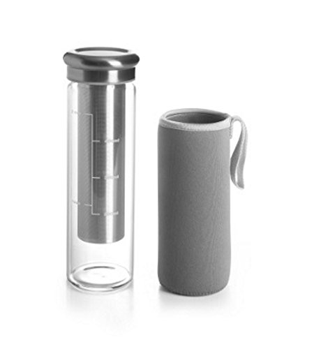 Ibili Cold Brew Borosilicate Glass Infuser Measure Cup Flask