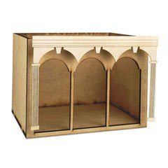 Dollhouse Miniature Arched Room Box Trim ()
