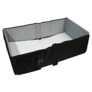 Amazon.com : Eddie Bauer Infant Travel Bed - Black ...