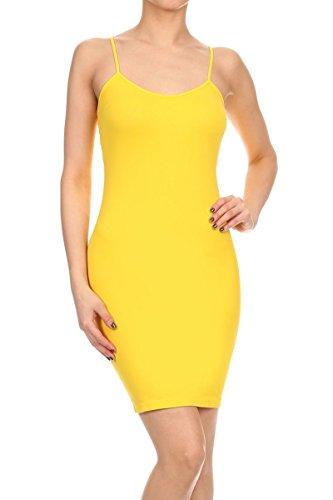 womens spaghetti strap mini dress - 2