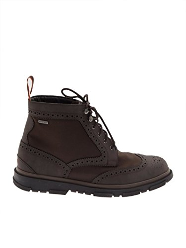 Bottines Homme Cuir Swims Swims Homme Marron STORMBROGUEHIGHBB YBOnw7