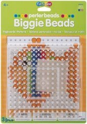 Bulk Buy: Perler Fun Fusion Biggie Bead Pegboards 2/Pkg-Clear-5.75