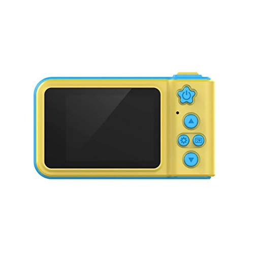 IanqAzwibvd-UK 2,0 Zoll HD-Bildschirm Kinder Sportfotografie Mini Digital Photo Camera gelb blau