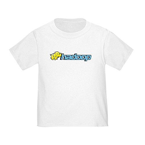 CafePress hadoop_Elephant_rgb2 T-Shirt Cute Toddler T-Shirt, 100% Cotton White