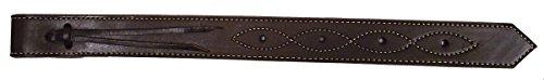 Hamilton Leather Flank Billet, 1-3/4-Inch by 21-Inch, Havana Brown