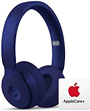 Beats Solo Pro Wireless Noise Cancelling On-Ear Headphones - Apple H1 Chip - Dark Blue with AppleCare+ Bundle
