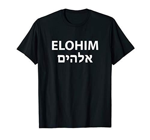 Elohim Hebrew T-Shirt Gift