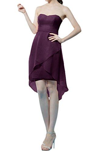 Missdressy - Vestido - trapecio - para mujer Uva 38