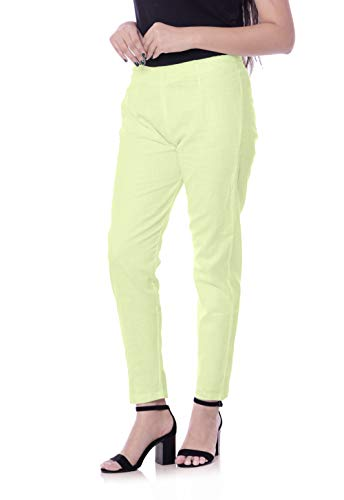 Era Life Women's Stylish Plain Solid Relaxed Trousers Pant