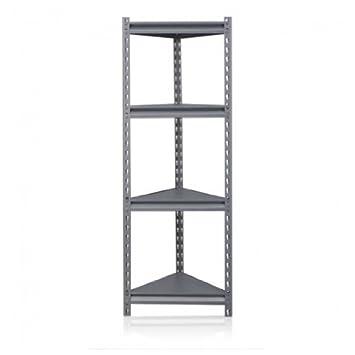 etagere d'angle metal