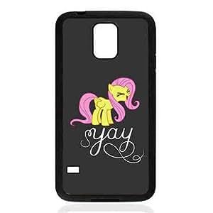 Para Samsung Galaxy S5 I9600 Funda Eye-Catching Phone Funda My Little Pony Fluttershy Graceful Cover