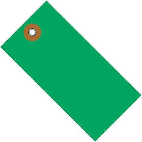 TYVEK Empty-Eyelet Shipping Blank Tag, Spunbonded Olefin, 4-1/4