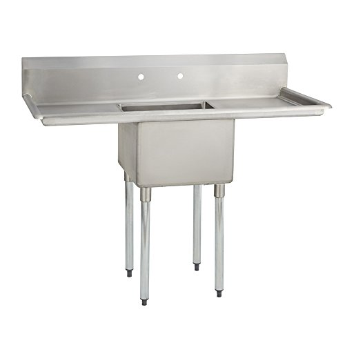 Fenix Sol One Compartment Stainless Steel Sink, Bowl: 16