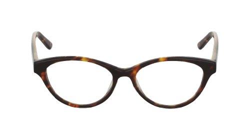 Flutter Women's Elphaba Cognac Kyoto clear Lens cat eye 50MM Glasses 1.5 - Eyewear Kyoto