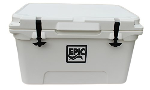 Epic MegaGames Cooler 45 Quart Roto Molded Ice Cooler - H...