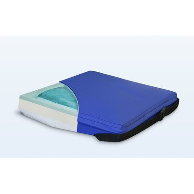Apex Core Wedge Gel-Foam Cushion in Royal Blue Size: 2'' - 4'' H x 18'' W x 16'' D by NYOrtho