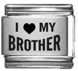 I Heart my Brother Laser Etche
