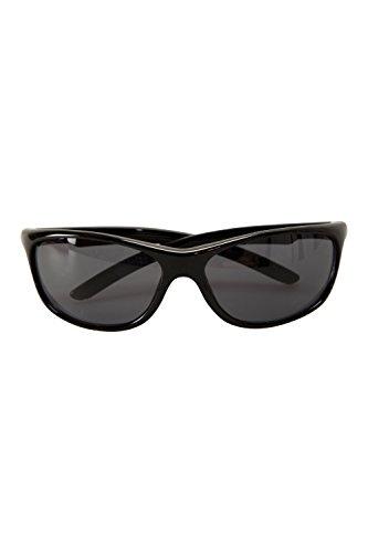 Mountain Warehouse Balina Sonnenbrille - Brille mit UV400-Filter, leichte Brille, strapazierfähiger Kunststoff - Basic-Brille für Reisen Schwarz