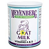Meyenberg Non Fat Powdered Goat Milk, 12 Ounce -- 12 per case.