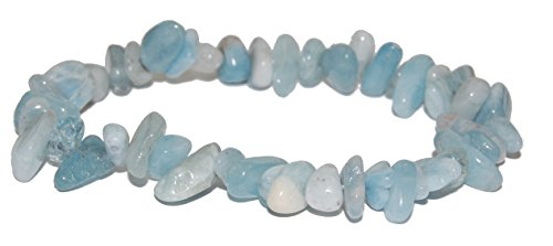 Miner's Horde - Chip Chunk Bracelet Aquamarine Blue, 6-8