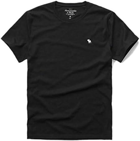 アバクロ 正規 Tシャツ メンズ クルーネック 丸首 アバクロンビー&フィッチ メンズ 半袖 Abercrombie&Fitch [並行輸入品]