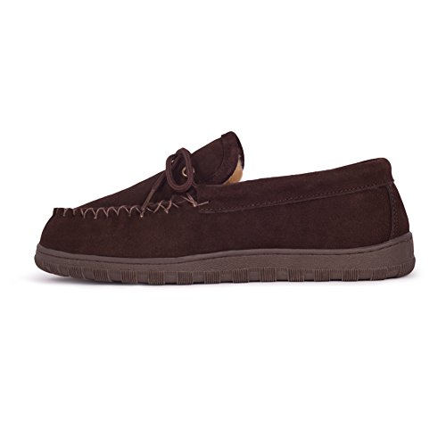 Chocolate Men's Fuzzies Moccasin Fuzzies RJ's RJ's Chocolate RJ's Moccasin Men's Fuzzies 4wFAvnq
