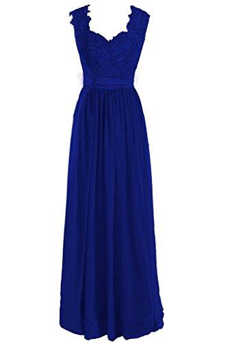Fanciest Königsblau Linie Damen A Kleid 8wq68Rr