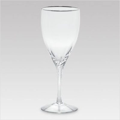 (Lenox Encore Platinum Iced Beverage Stem Glass, Clear)