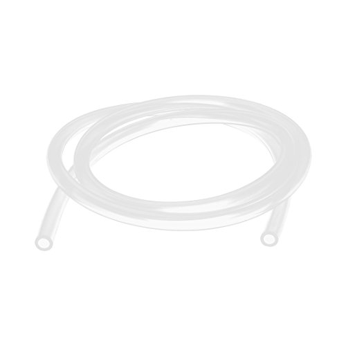 uxcell 5mmx8mm Silicone Food Grade Tube Beer Water Air Hose Pipe 1Meter Clear