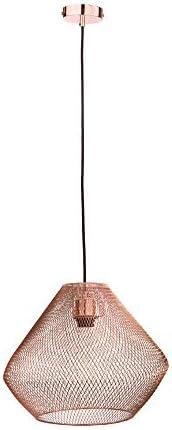 Lampara Colgante Acero Color Cobre 8.5W 100V Tecnolite 60CTL6121MVCO, Grande