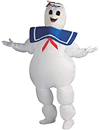 Costume Co Ghostbusters Inflatable Stay Puft Marshmallow Man Costume, White, Standard (889832)