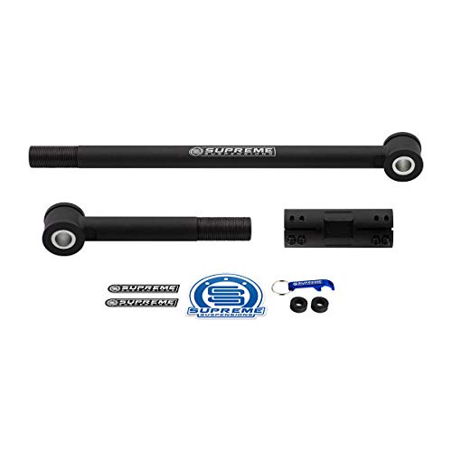 Supreme Suspensions - Adjustable Track Bar for 1999-2004 Ford F-250 Super Duty 4x2 4x4 Front Suspension Steel TrackBar - for Vehicles with 2-6