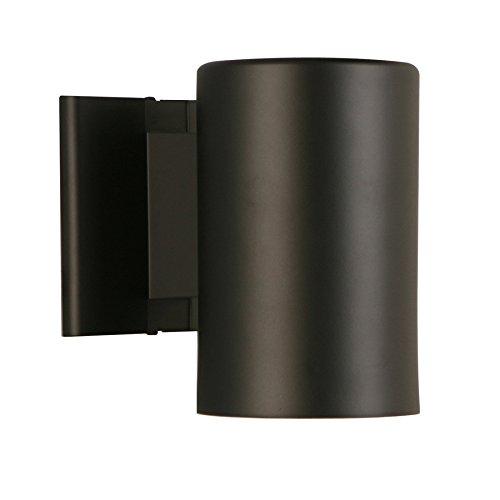 Portfolio 7-in H Matte Black Dark Sky Outdoor Wall Light Dark Sky Outdoor Lighting