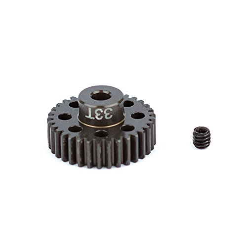 Team Associated 1351 Factory Aluminum 33T 48P 1/8 Shaft Pinion Gear