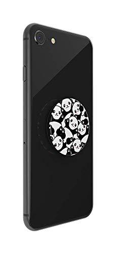 PopSockets PopGrip – Support et Grip pour Smartphone et Tablette avec Un Top Interchangeable – Pandamonium