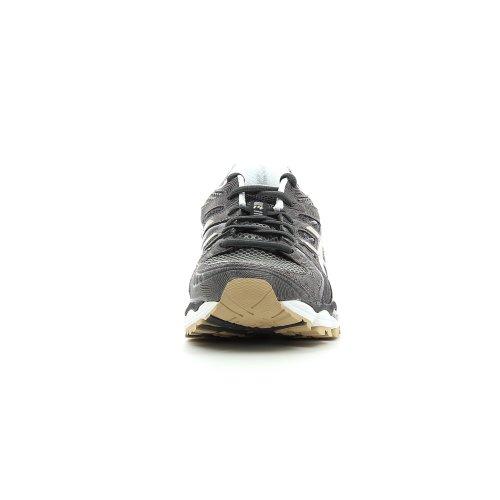 Asics Gel Nimbus 14Women unidad de zapatos–Black Champagne de oro de Onyx–Talla 42