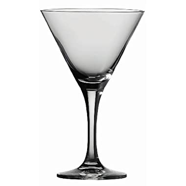 Schott Zwiesel Tritan Crystal Glass Stemware Mondial Collection Martini, 8.2-Ounce, Set of 6