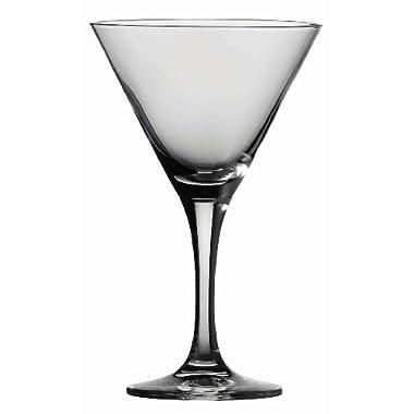 Schott Zwiesel Tritan Crystal Glass Stemware Mondial Collection Martini, 8.2-Ounce, Set of 6