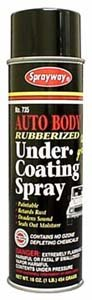 Autobody Rubberized Undercoating - Case:12 by Sprayway