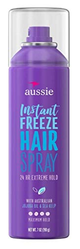 Aussie Instant Freeze Hair Spray, 7 oz, 2 pk (packaging may vary)